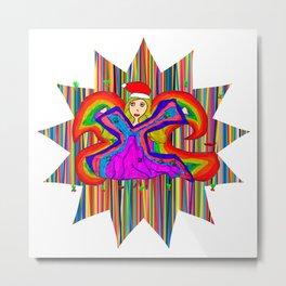 Star Fairy | Christmas Spirit Metal Print