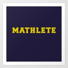 Mean Girls #9 – Mathlete Art Print