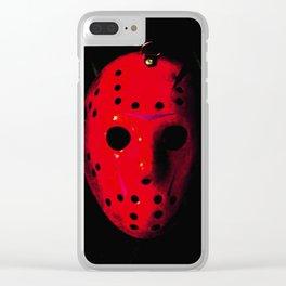 Jason - Blood Clear iPhone Case