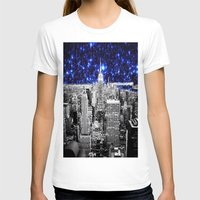 new york city T-shirts featuring new york city. Blue Stars by 2sweet4words Designs