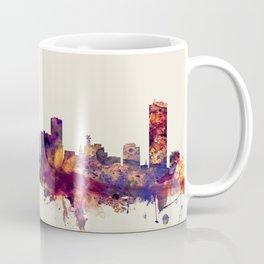 Buffalo New York Skyline Coffee Mug