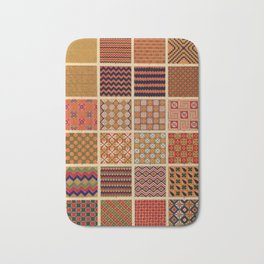 Egyptian Patterns Bath Mat