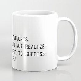 Thomas A. Edison quote Coffee Mug