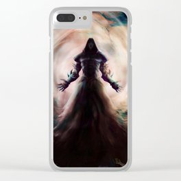 Death Blossom Clear iPhone Case