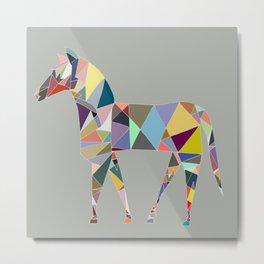 Eclectic Horse Metal Print