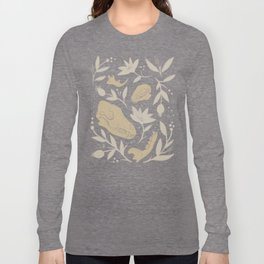 Forest Floor - Gold Long Sleeve T-shirt
