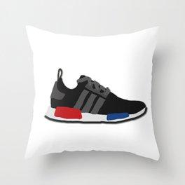 Sneaker NMD og 3 Stripes Throw Pillow