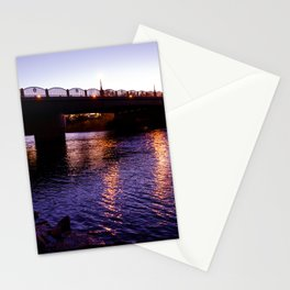 Night River 2 Stationery Cards