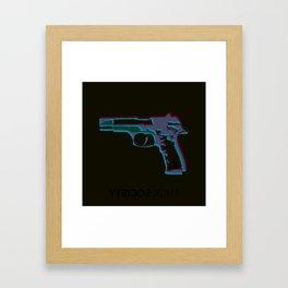 YTEICOS Framed Art Print