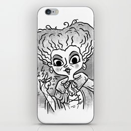 I Put a Spell on You iPhone Skin