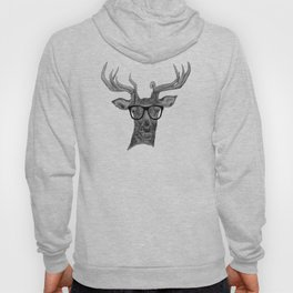 Hipster stag Hoody