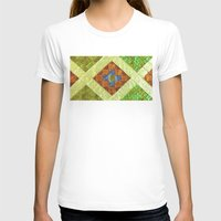 arab T-shirts featuring arab stained glass by tony tudor