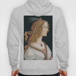 Sandro Botticelli, Idealized Portrait of a Lady, 1480 Hoody