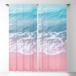Pink Ocean Beauty Dream #1 #wall #decor #art #society6 Blackout Curtain
