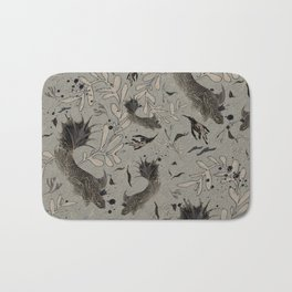 Lost. It's where she feels at ease. Bath Mat
