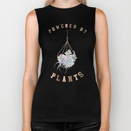 Powered By Plants Biker Tank