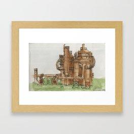 Gasworks Park Framed Art Print