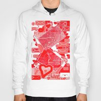letters Hoodies featuring love letters by sladja