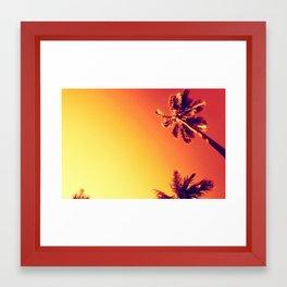 Tropic Haze Framed Art Print
