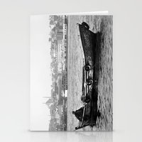 boat Stationery Cards featuring Boat by kartalpaf