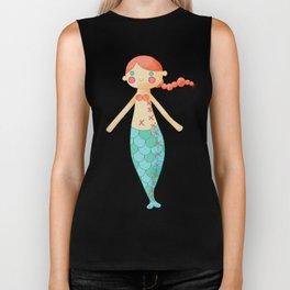 Mermaid doll Biker Tank