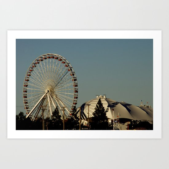 Navy Pier - Chicago, IL Art Print