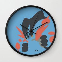 Mega Swampert Wall Clock