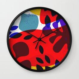leafz2 Wall Clock