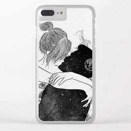 You're my favorite city. Clear iPhone Case