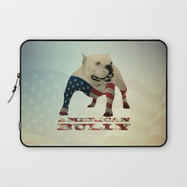 American Bully Laptop Sleeve