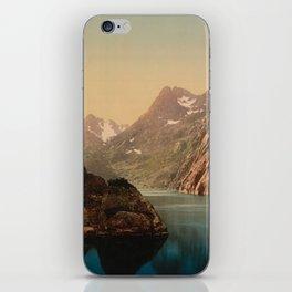 """Lofoten Trollfjord Norway"" iPhone Skin"