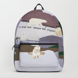 Respect Mother Nature 7 Backpack