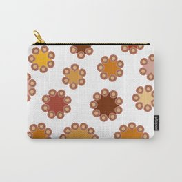 Floral Dots Carry-All Pouch