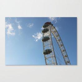 London Eye, London (2012) Canvas Print