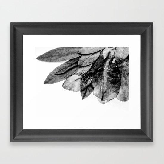 The Blackfish Camouflage Framed Art Print