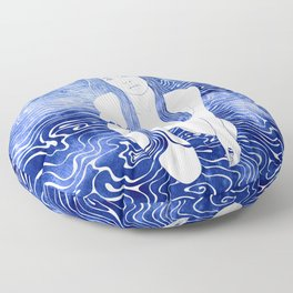 Nereid XXVIII Floor Pillow