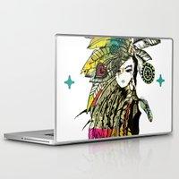 karu kara Laptop & iPad Skins featuring KARA by DON'T NEED NO SAMURAI