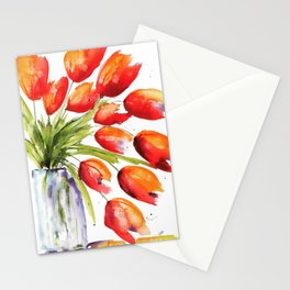 Tulips Overflowing Stationery Cards