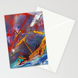Ship Of Fools Stationery Cards
