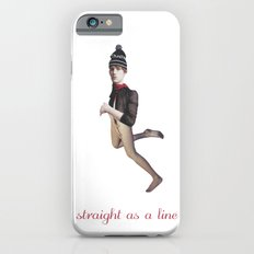 Straight as a line iPhone 6s Slim Case