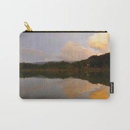 Lake at sunset Carry-All Pouch