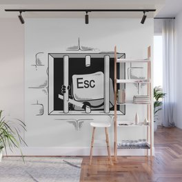 Esc Escape Wall Mural