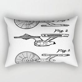 Spaceship toy Rectangular Pillow