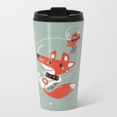 Space Fox Metal Travel Mug