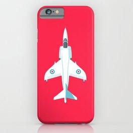 Sea Harrier Jet Aircraft - Crimson iPhone Case
