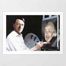 Art Saves Lives (Digital) Art Print