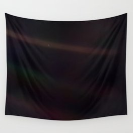 Mote of dust, suspended in a sunbeam Wall Tapestry