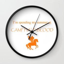 Spending my summer at Camp Half-Blood Wall Clock
