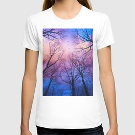 A New Day Will Dawn  (Day Tree Silhouettes) T-shirt