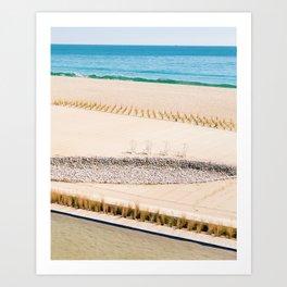 Beach and Ocean Art Print